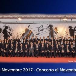Foto di gruppo dopo il Concerto di Novembre del 2017