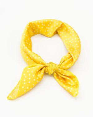 bandana femme jaune