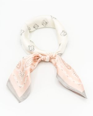 bandana satin rose