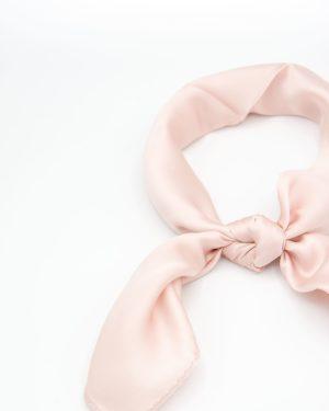 bandana foulard rose pour femme
