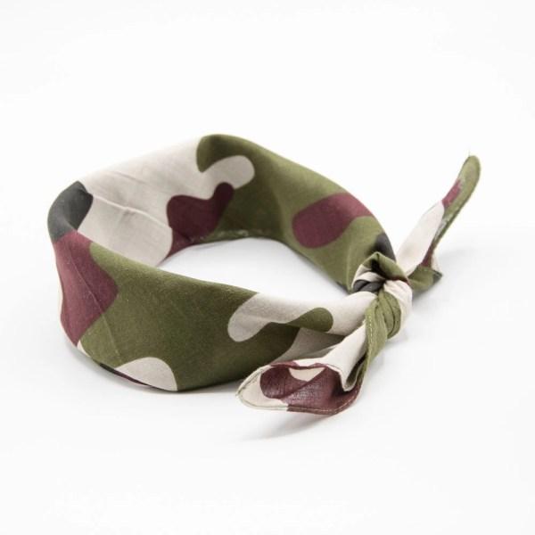 bandana militaire forêt II pour homme et femme
