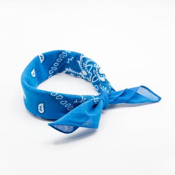 bandana bleu pour homme ou femme
