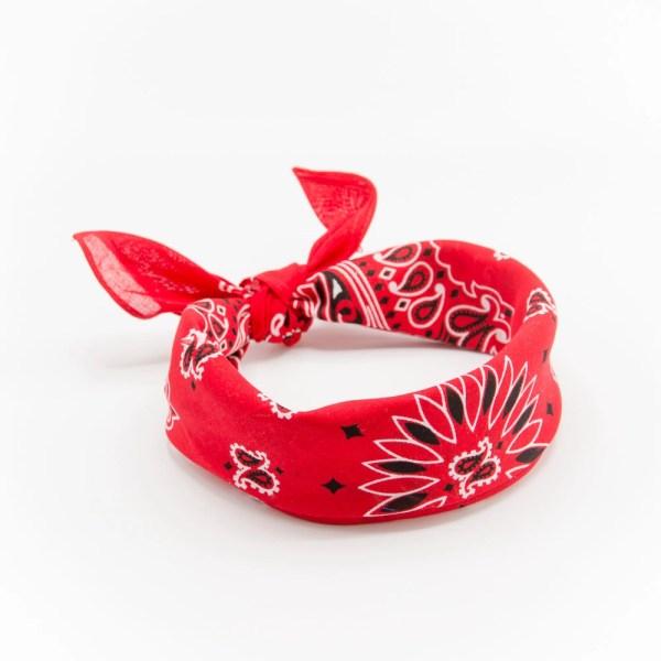 bandana rouge à motif paisley pour homme II