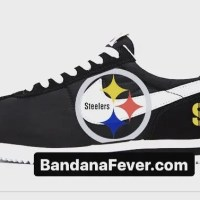 Pittsburgh Steelers Custom Nike Cortez Shoes NBW