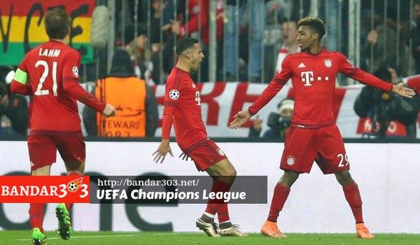 Kingsley Coman Bayern Munchen