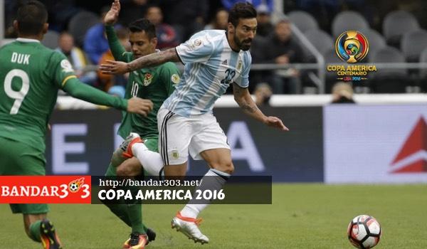 Ezequiel Lavezzi Argentina Copa America
