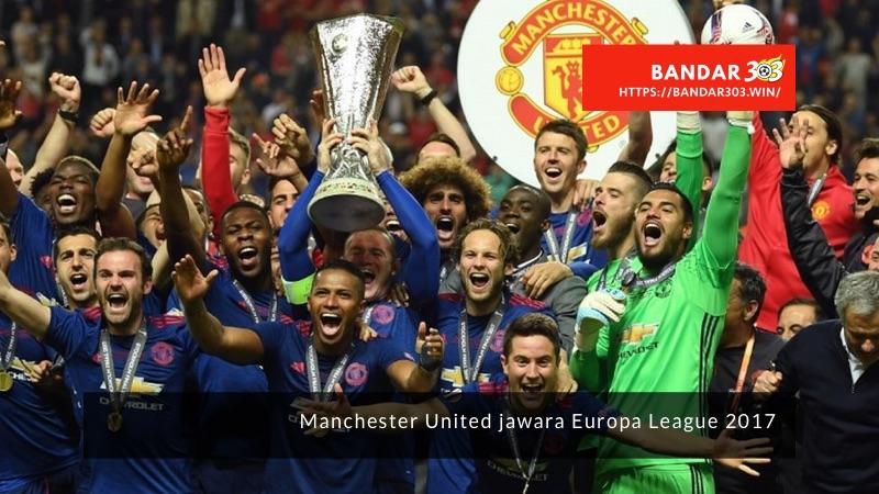 Manchester United jawara Europa League 2017