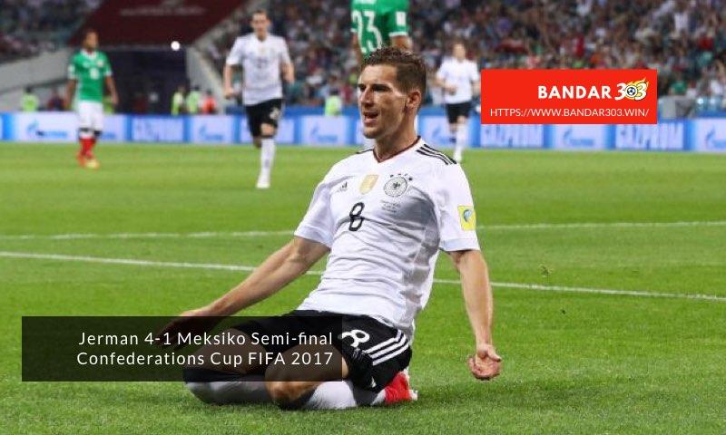 Leon Goretzka Jerman Meksiko Confederations Cup