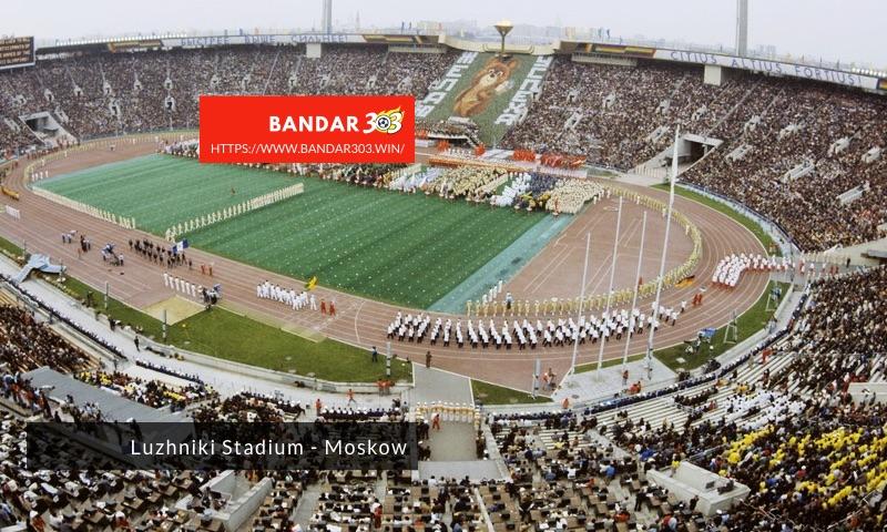 Luzhniki Stadium Olimpiade Musim Panas 1980