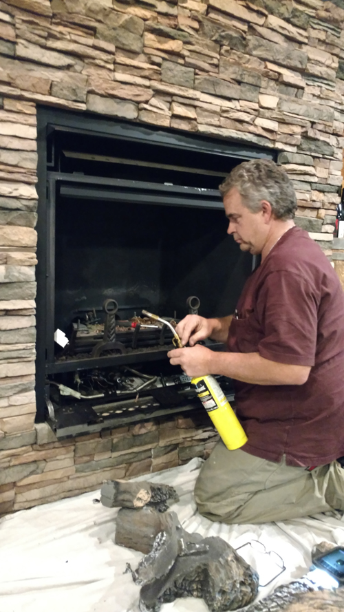 Image Result For How To Clean A Gas Fireplace Pilot