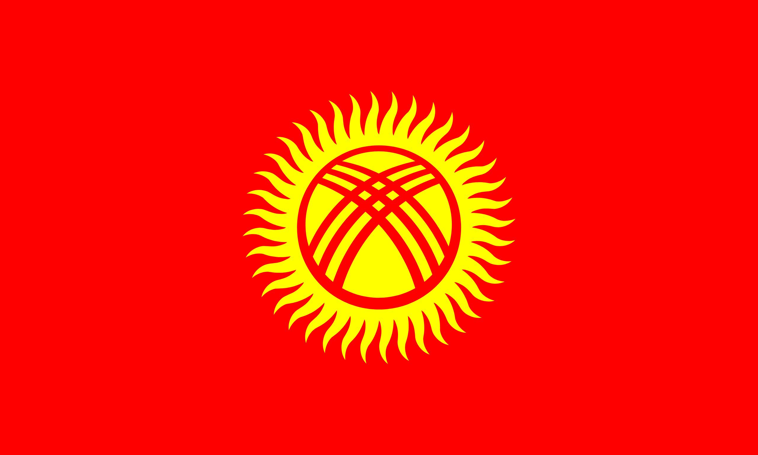 Resultado de imagem para quirguistão bandeira