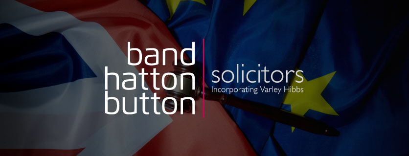Band Hatton Button - Post Brexit