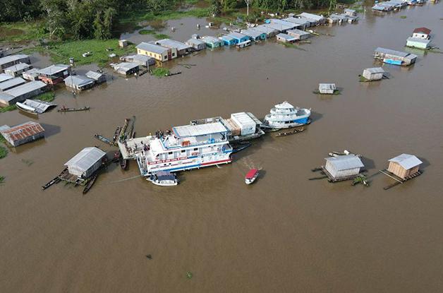 Rio Negro pode baixar mais dez cm nas próximas semanas