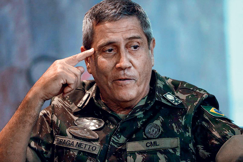 Rosiene Carvalho | Caso tenha ameaçado eleições, Braga Neto não serve para Ministro da Defesa, diz vice-presidente da Câmara