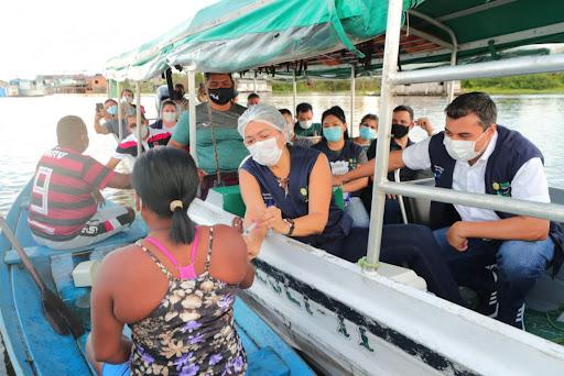 Mais de 50 cidades do AM já vacinam população adulta contra a Covid-19, afirma governo