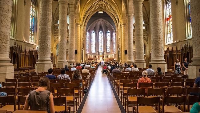 empty church interior - small