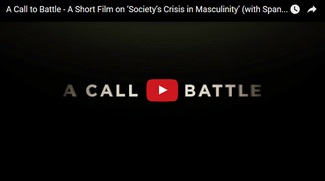 A Call to Battle – A Short Film on 'Society's Crisis in Masculinity'