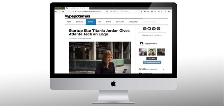 Startup Star Titania Jordan Gives Atlanta Tech an Edge
