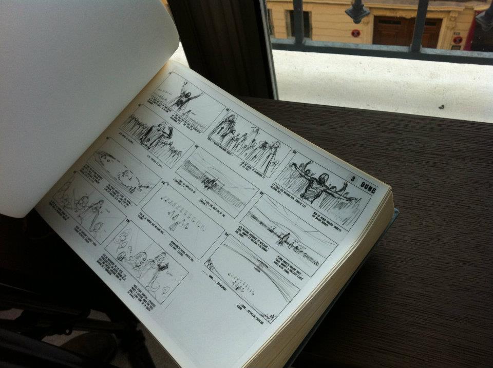 Moebius Storyboards for Jodorowsky's Dune
