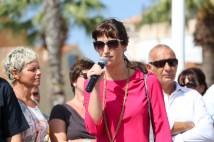 Aurélie Clarion de l'association des commerçants