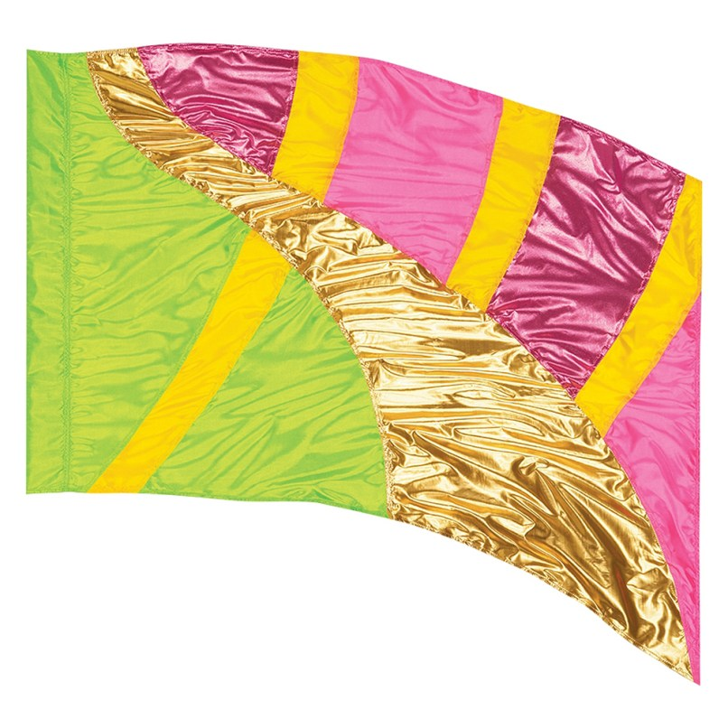 How To Make Mini Color Guard Flags | mountainstyle co