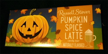 Russell Stover Pumpkin Spice Latte Bar