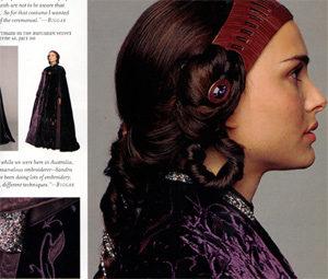 Trisha Biggar's work displayed in J.W. Rinzler's Art of Revenge of the Sith book.