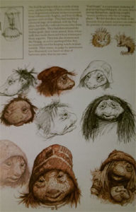"""""""Fizzgig"""" (at top), and the Pod People."""