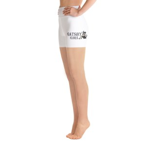 """Gatsby Girl"" Logo Yoga Shorts"