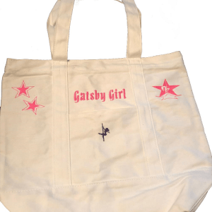 Gatsby Girl Tote- Front