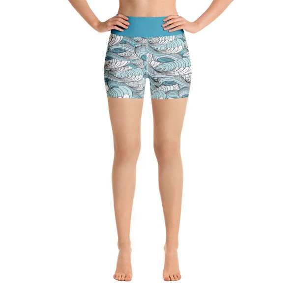 """""""Go with the Flow"""" Yoga Shorts"""