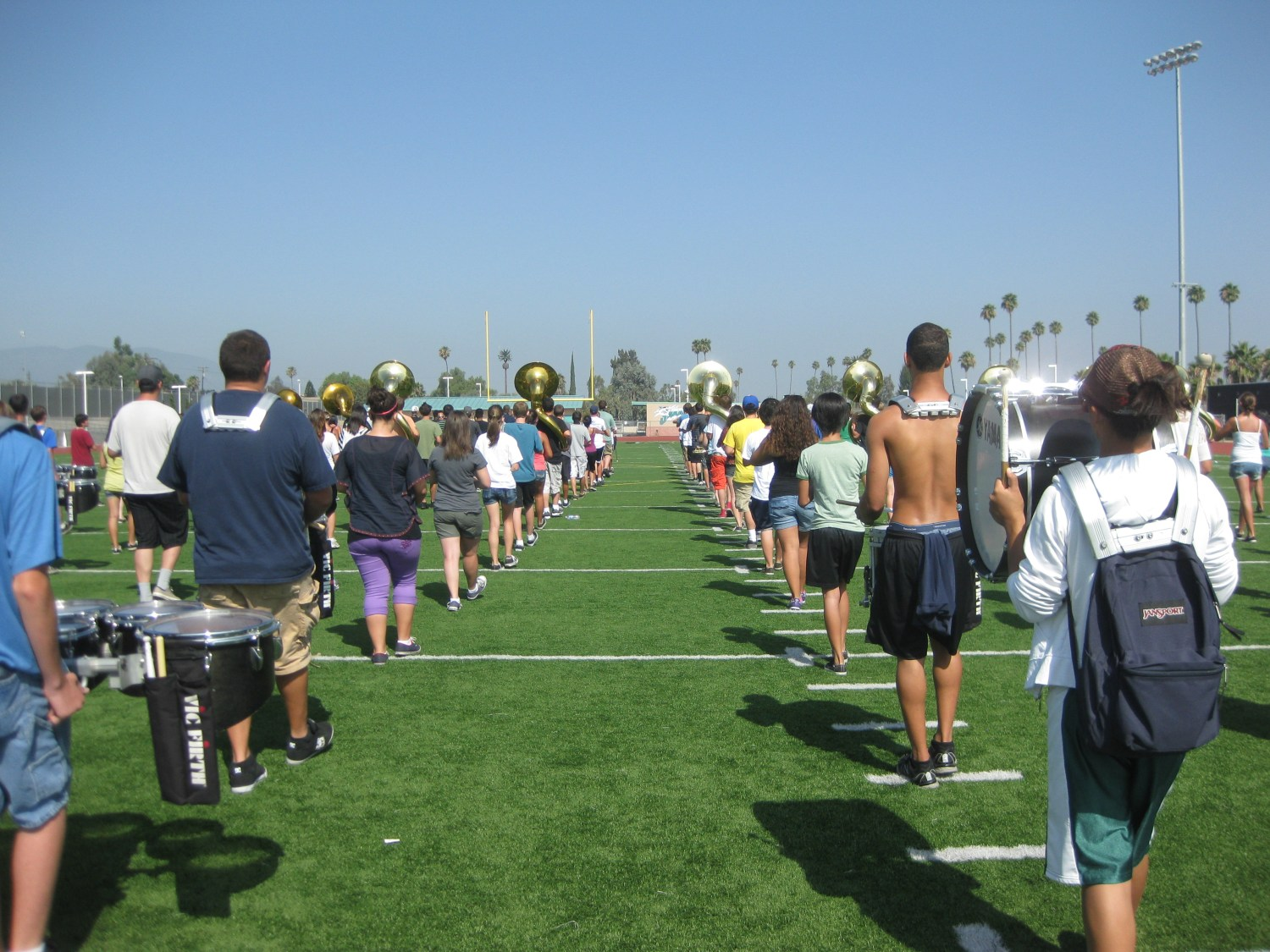 Band Camp - learning field show