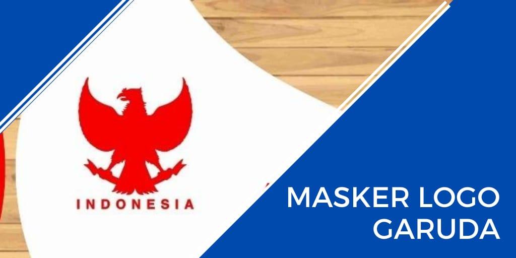 masker logo garuda