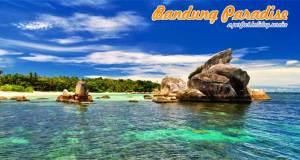 Paket wisata Pulau Belitung dari Bandung