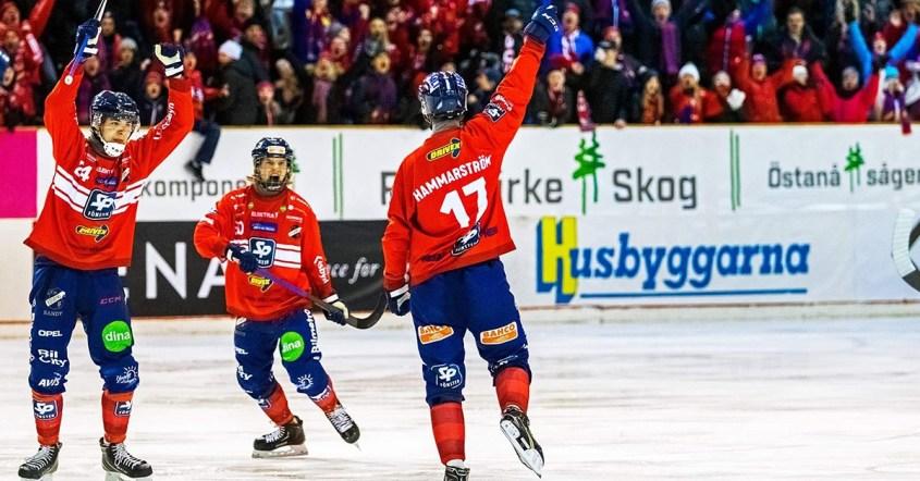 Edsbyn, Bollnäs, kvartsfinalen, Edsbyn vann i första kvartsfinalen, Martin Frid
