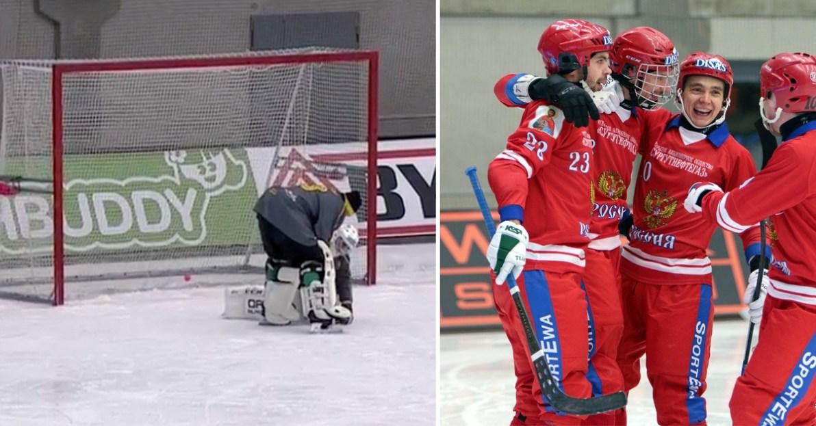 Sverige, Ryssland, VM-final, Anders Svensson, bandy-VM