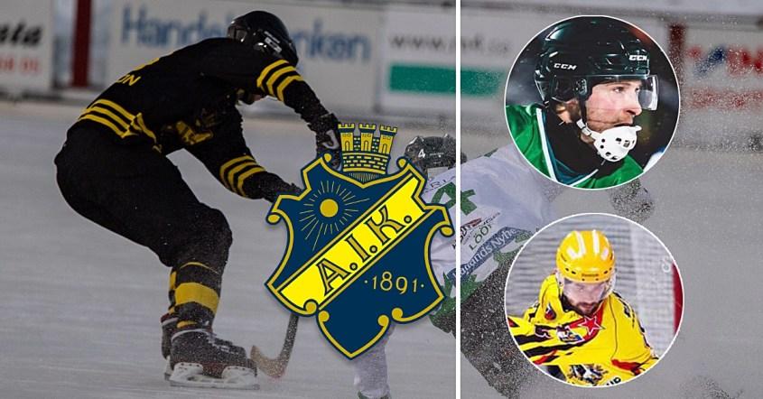 Alexey Chizhov, Dmitrij Loginov, AIK