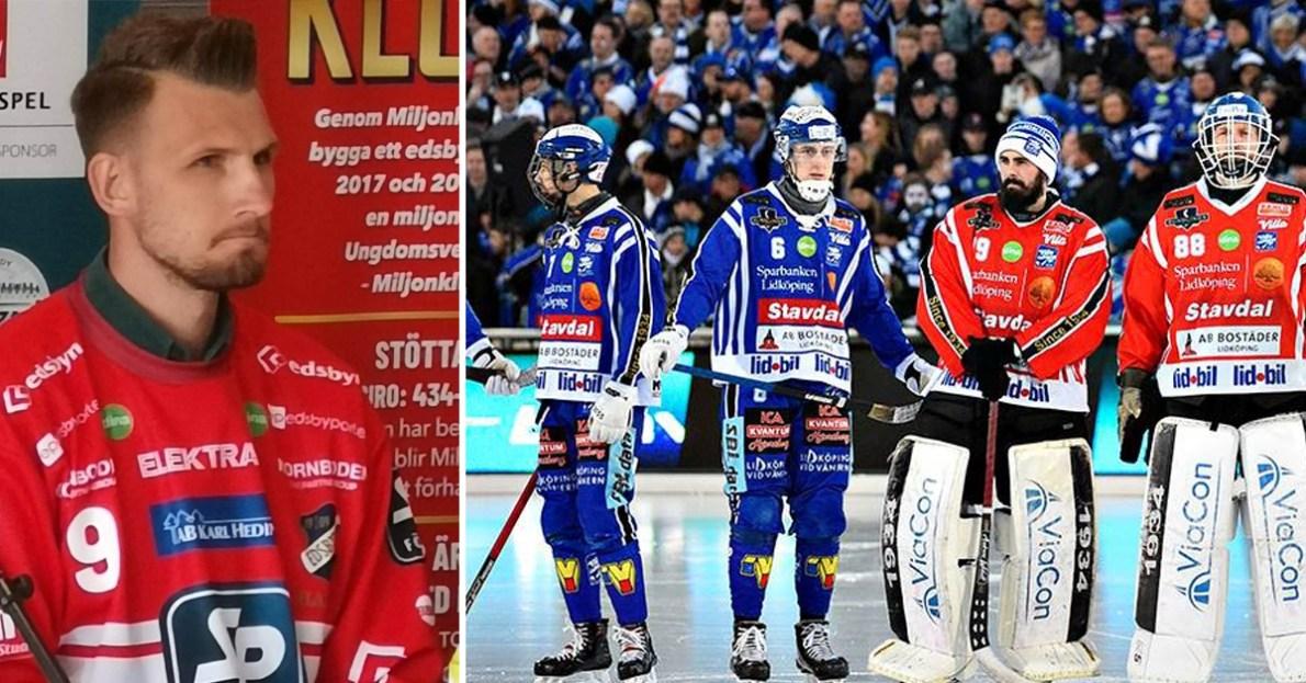Simon Jansson, Edsbyn, Villa, favoriter till SM-guldet