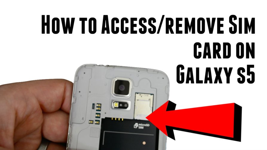 How to access and remove galaxy s5 sim card ccuart Images