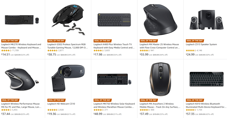 Early Black Friday Deal: Save over 50% off Logitech PC accessories