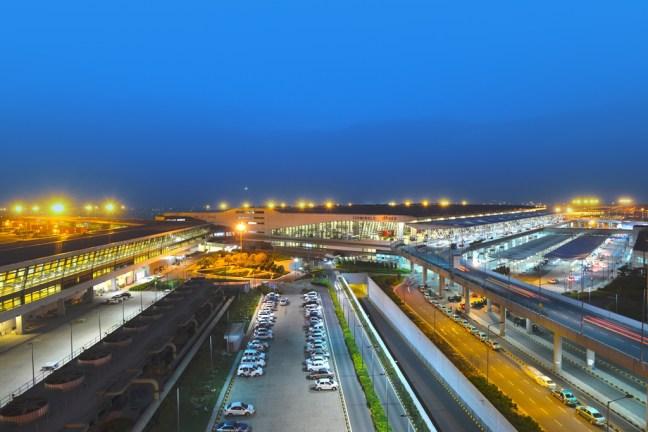 T3-IGI, Airport - Cycling in Delhi