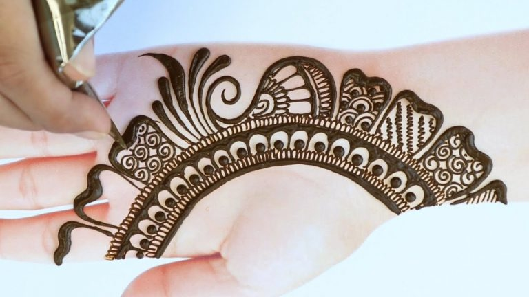 The traditional front hand mehndi design · 3. Latest Simple Mehndi Design For Front Hand Full Hand Mehndi Designs Bridal Mehndi Design 2021 Bang Box Online
