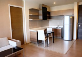 Rhythm Sukhumvit 50 – Bangkok condo for rent | close to On Nut BTS & Tesco Lotus hypermarket | modern finishes + nice city view