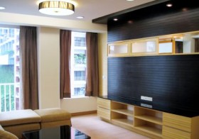 Langsuan Ville – apartment for rent in Pathumwan, Bangkok | 550 m. to Chidlom BTS | quick walk to park, restaurants & cafes