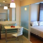 Lumpini Place Rama 9 – Ratchada – Bangkok condo for rent | 800 m. to Rama 9 MRT | short walk to dining + shopping option