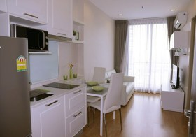 Q House Sukhumvit 79 – Bangkok condo for rent | 3 mins walk to to Onnut BTS | unobstructed city view, fully furnished