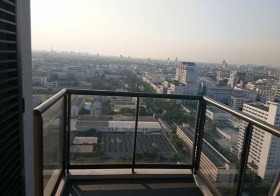 M Phayathai – condo for rent near Victory Monument – Phayathai BTS & airport link | spacious balcony, great view