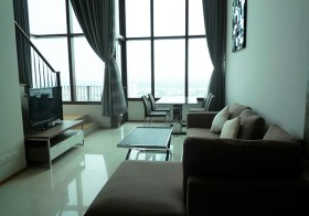 The Emporio Place Sukhumvit 24 – Bangkok condo for rent | 10 mins walk to Phrom Phong BTS | duplex type, high ceiling + superb view