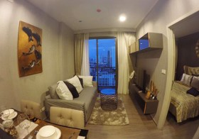 Nye by Sansiri – condo for rent | 250 m. to  Wongwianyai BTS | east facing | washer in unit | 10 mins to Sathorn-Silom