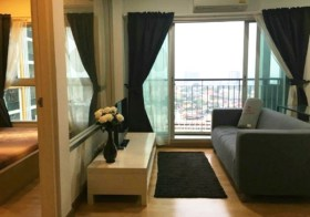 Parkland Taksin Thapra – condo for rent | 5-7 mins walk to Talat Phlu-Phonimit BTS | near shopping mall, eateries, grocery store